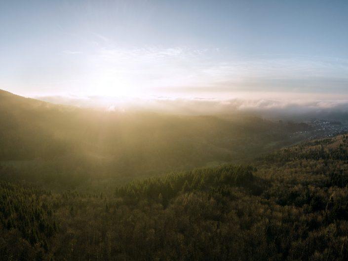 Landschaften Luftaufnahmen